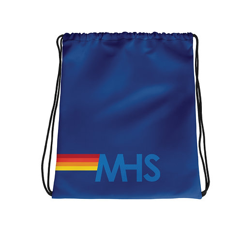 MHS Royal Blue String Bag