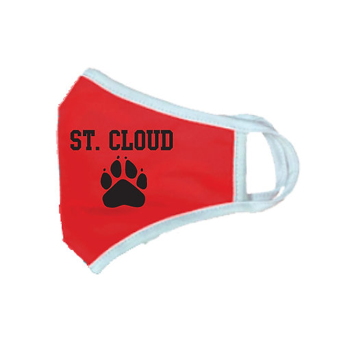 Breathable St Cloud Paw Mask