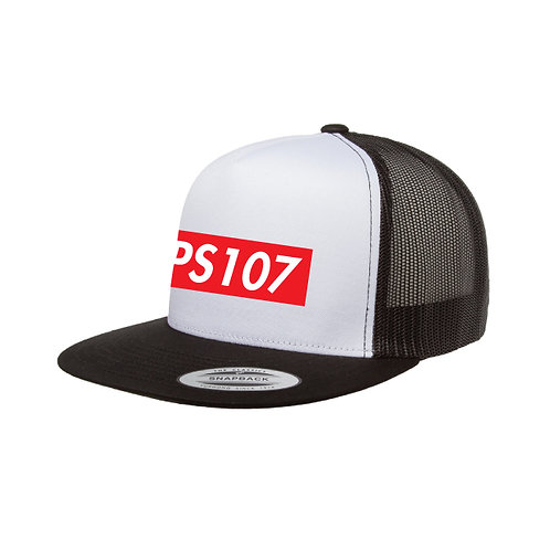 PS107 Skater Snap Back Trucker Hat