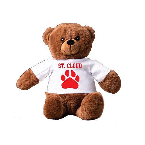 Teddy Bear in St Cloud Paw T-Shirt