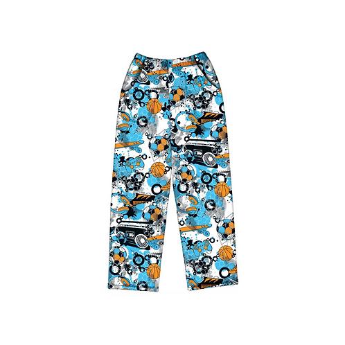 Silky Fuzzy Street Sport Pants