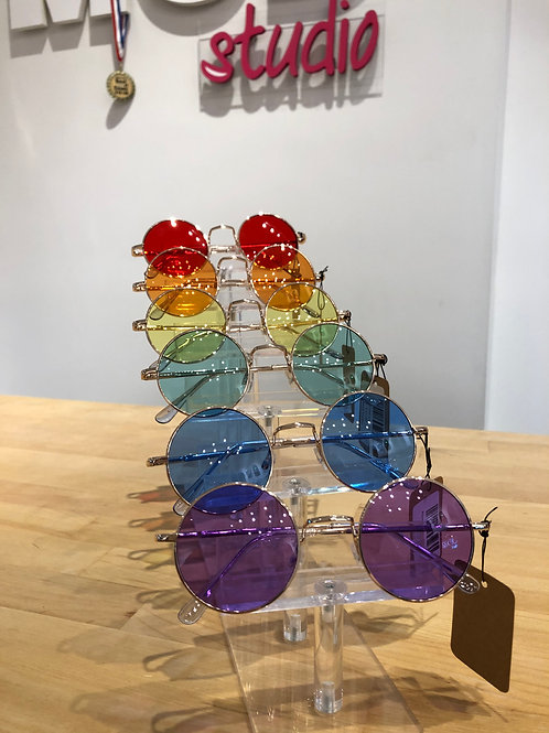 Colored Tinted Round Glasses