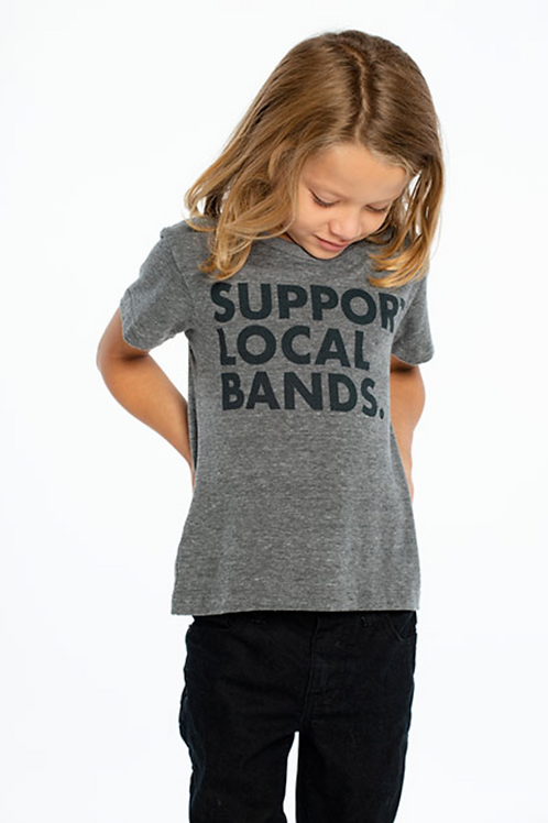 Chaser Support Local Bands Tee