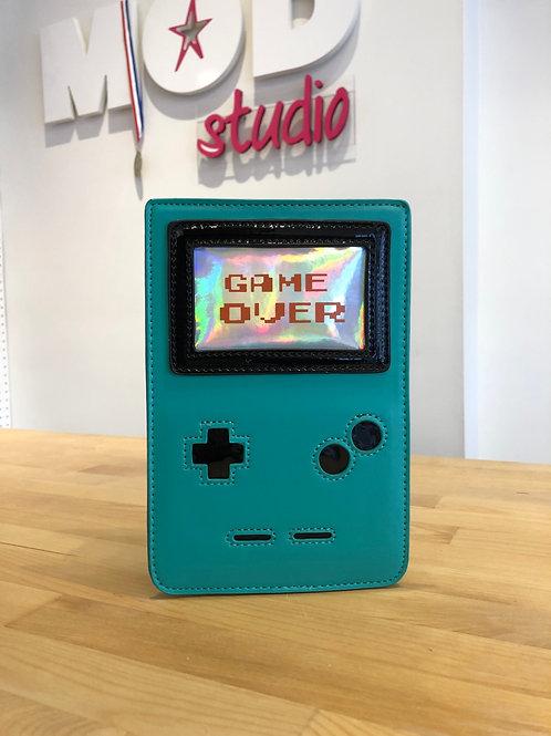 Turquoise Game Boy Novelty Cross-Body Bag