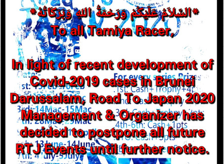 Road to Japan postponed
