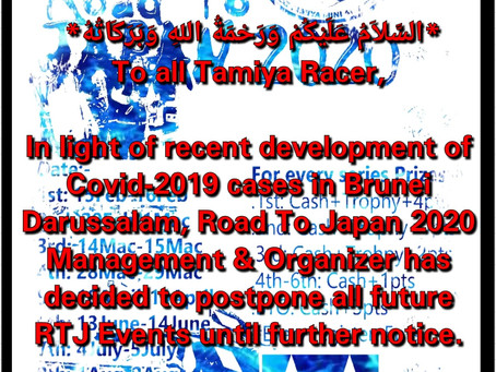 Road to Japan postponed