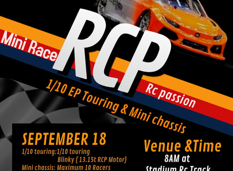 RC Passion 1/10 EP series returns