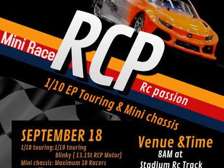 RC Passion 1/10 EP series returns