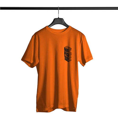 Camiseta Noffing Nffg 12 - Laranja