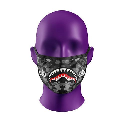 Máscara Grey Camo - Grátis