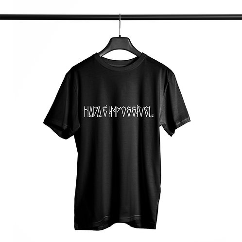 Camiseta Noffing Nada é Impossível - Preta