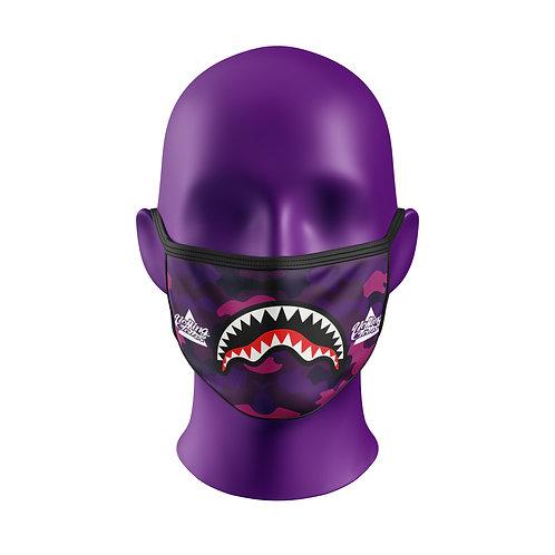 Máscara Noffing  Purple Camo - Grátis