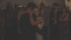 First dance captured by the wedding vide