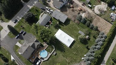 Drone Aerial Venue Wedding
