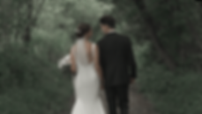 wooded walk as this couple falls in love