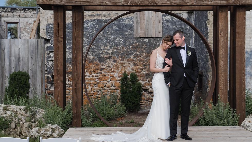 MH Wedding Films Elora Mill Pearle Weddings