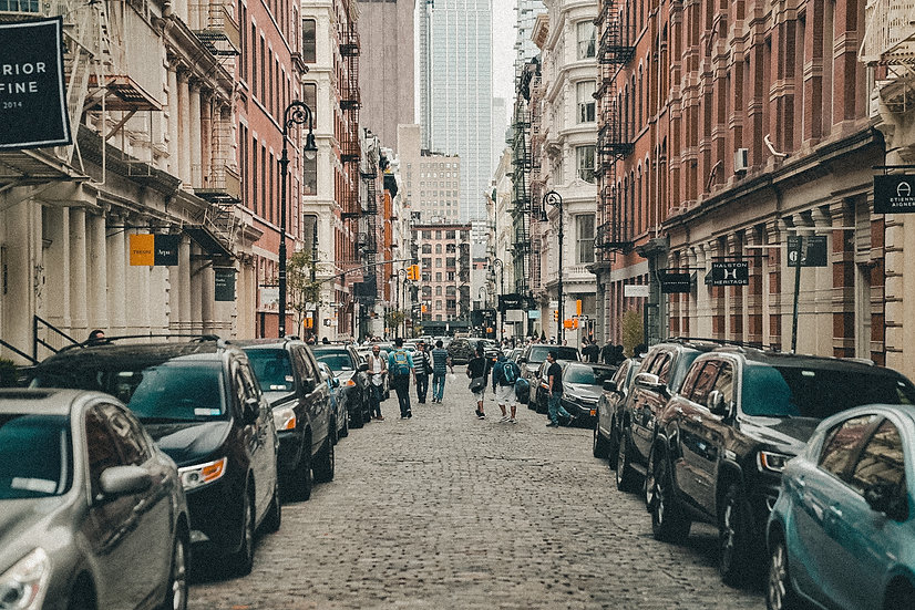 "NEW YORK SERIES // ""GREENE STREET"" Print"