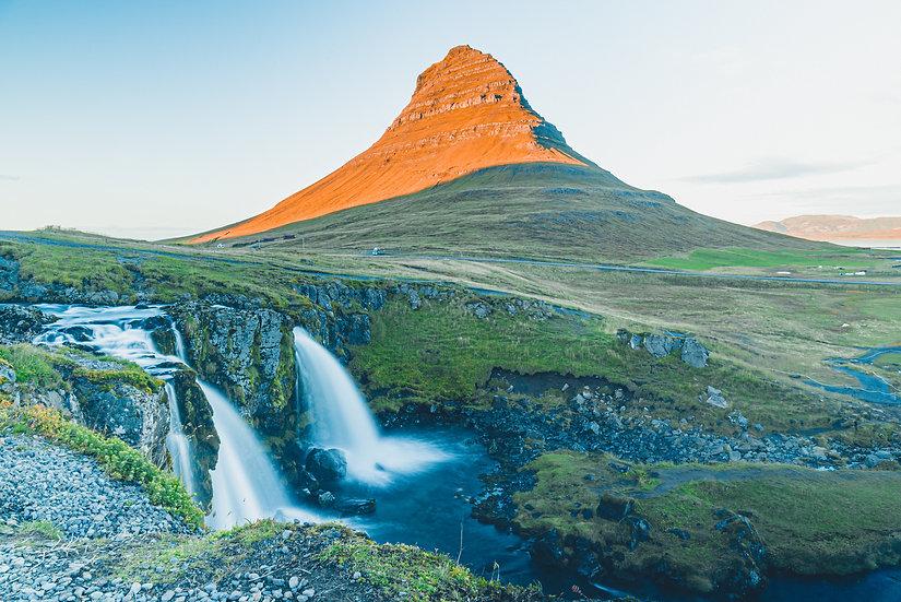 "ICELAND SERIES // ""KIRKJUFELLSFOSS"" Print"