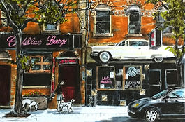 Cadillac Lounge, W. Queen West Toronto