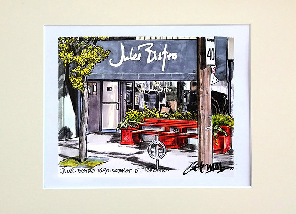 Jules Bistro Queen St. E.