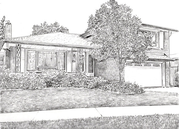 Custom drawing for Real estate agent