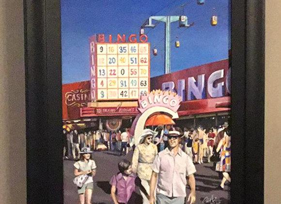 Custom painting- C. N. E 1970's