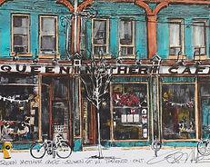 The Queen Mother Cafe, Queen Street W. Toronto