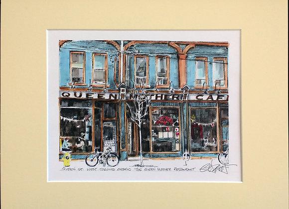 The Queen Mother Cafe, Queen Street W.
