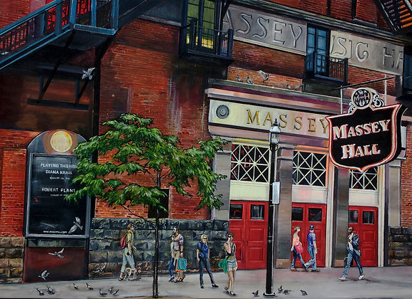"12""X 16""- Massey Hall Print"
