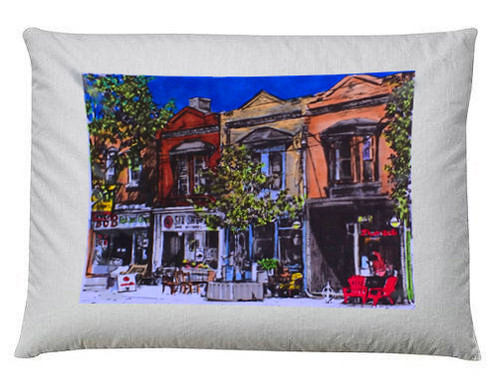 How To Wash Throw Pillows Without Removable Cover Custom Leslieville Pillow