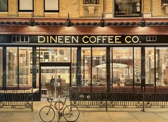 "24""x 30"" Dineen Coffee Co. Print"