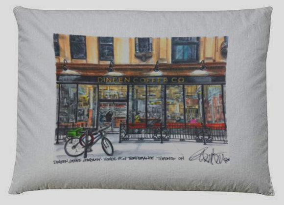 Dineen Coffee co. Pillow