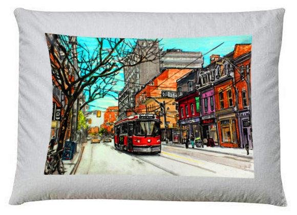 504 King Streetcar Pillow