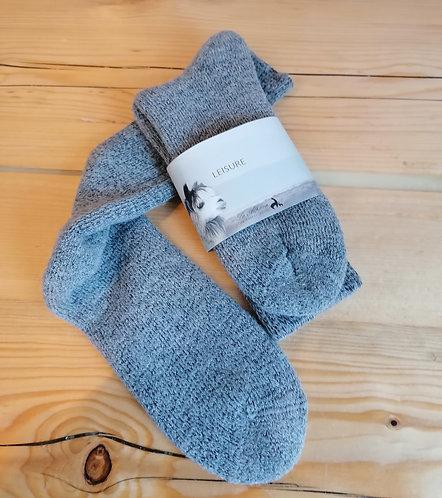 Alpaka Socken, Warm und kuschelig gefüttert