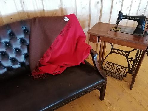 Sofadecke aus Alpakawolle