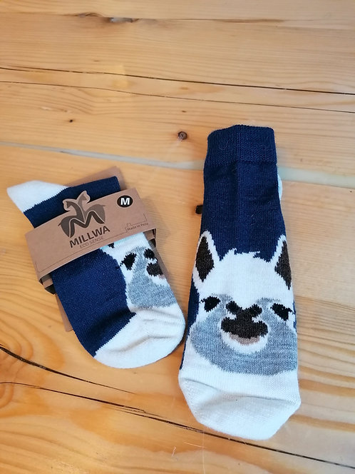 Alpaka Socken im Alpaka Design