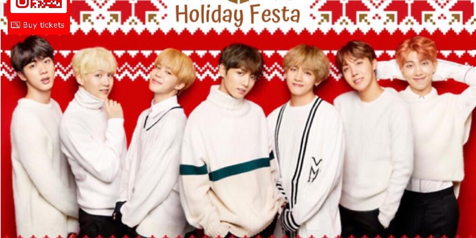 BTS Galaxy Holiday Festa