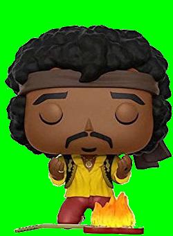 Funko POP! Rocks - Jimi Hendrix Monterey 53