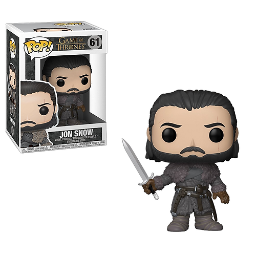 FUNKO POP! - GAME of THRONES 61 Jon Snow ( Beyond the Wall )
