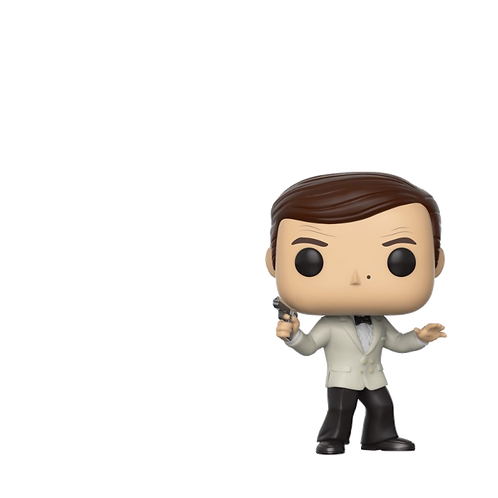 Pop! Movie: James Bond 525 - White Tux Roger moore Exclusive