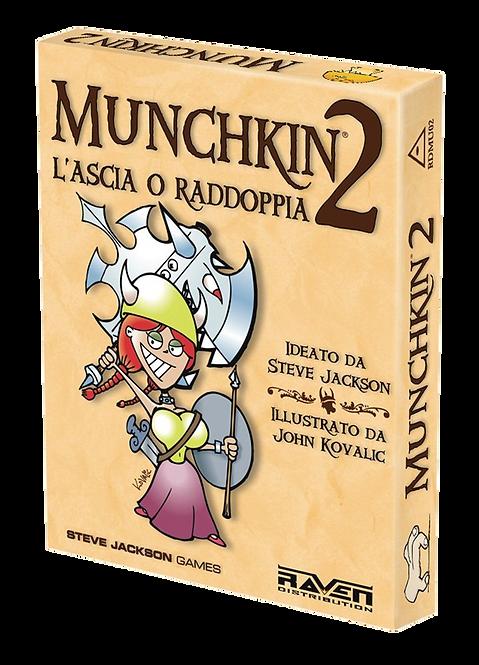 Munchkin Esp 2 L'ascia o Raddoppia