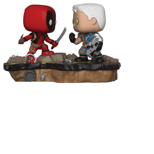 Pop! Marvel: Movie Moments 318- Deadpool vs Cable 2-Pack