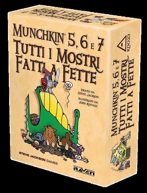 Munchkin Esp 5, 6 e 7 - Tutti i Mostri Fatti a Fette