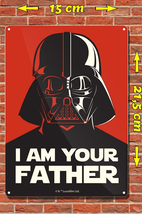 SW I AM YOUR FATHER TIN SIGN