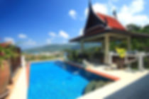 Seaview villa at Kamala Beach