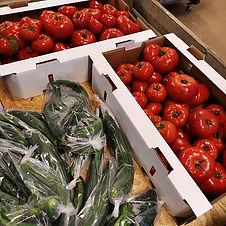 Kom ihåg att köpa lokala grönsaker till