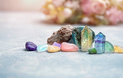 Différentes formes de cristaux