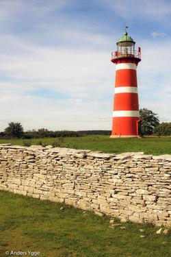 Närs lighthouse, east on Gotland
