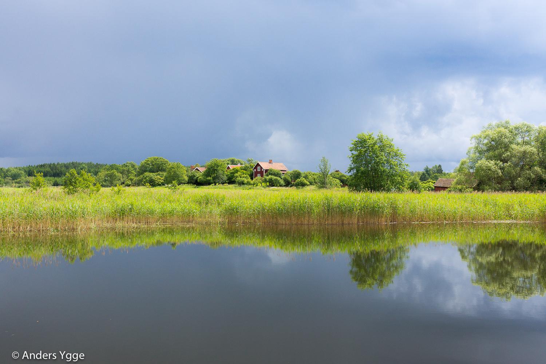 Stångån, close to Slattefors