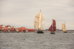 Sailing ships in Mollösund